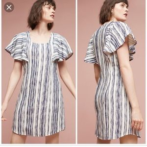 Worn Once Anthropologie Striped Dress M